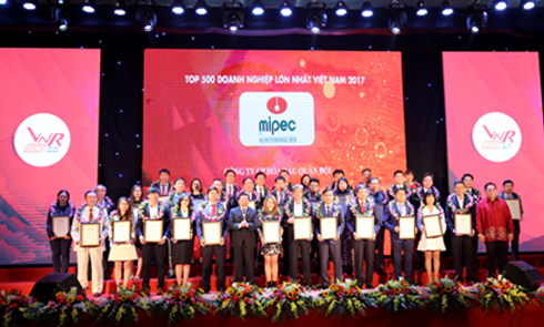 MIPEC MOVES UP 15 PLACES IN VNR500 RANKING IN 2017